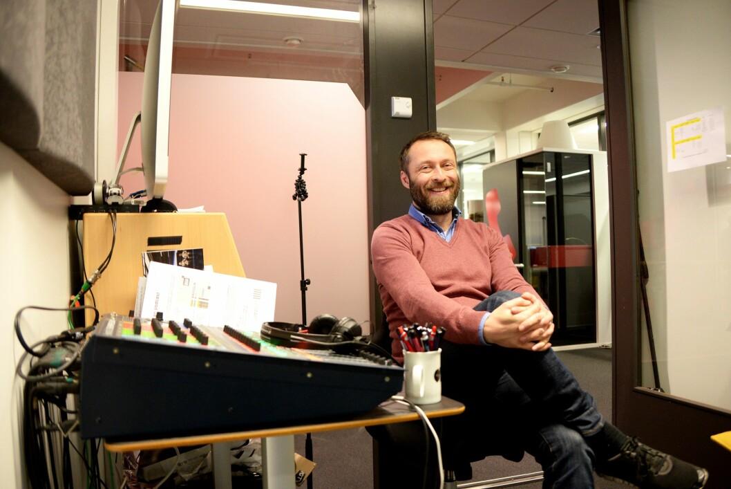 Produsent og journalist Magne D. Antonsen i VG.
