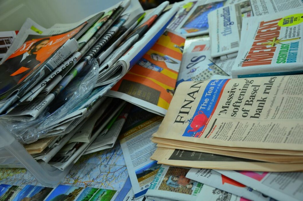 Tre av fire mener tradisjonelle medier gjør en god jobb i sin nyhetsdekning, viser en stor undersøkelse gjort i 38 land verden over. Illustrasjonsfoto