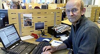 For tredje gang begynner Arne Egil Tønset (57) i NRK Finnmark. Allerede på plass som journalist ved Kirkenes-kontoret