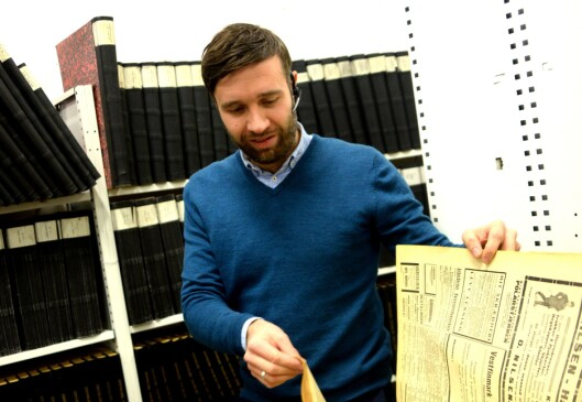 Arne Reginiussen, ansvarlig redaktør i Finnmark Dagblad og iFinnmark.
