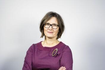 Styremedlem Britt Sofie Hestvik i Fagpressen. Hun er også ansvarlig redaktør og adm. dir i Kommunal-Rapport.
