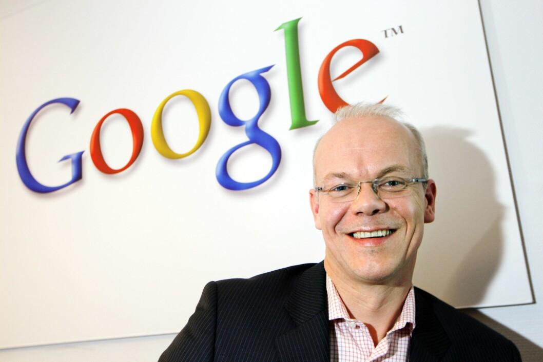 Jan Grønbech, sjef for Google Norge.