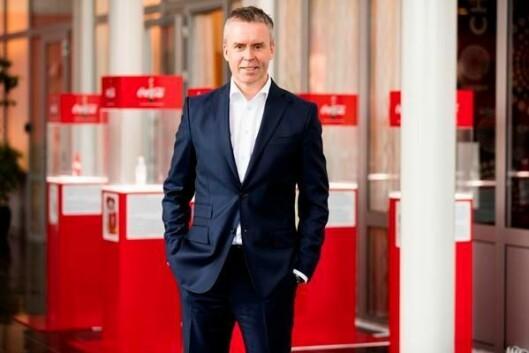 Stein Rømmerud, administrerende direktør i Coca Cola Enterprises Norge AS.