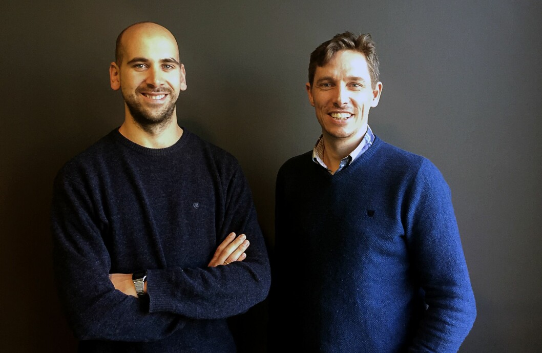 Til venstre Stord24-redaktør Jonas Sætre, til høgre medeigar og strategipartner Jostein Sydnes.