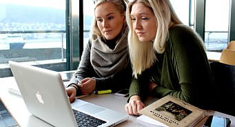 Eit halvt år etter bacheloren, arbeider kun sju av 40 studentar på fulltid i mediebransjen