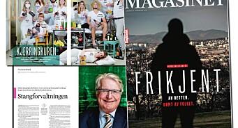 71 kommafeil kler Dagbladets relansering dårlig. Men bortsett fra det er språket i Magasinet både festlig og feilfritt