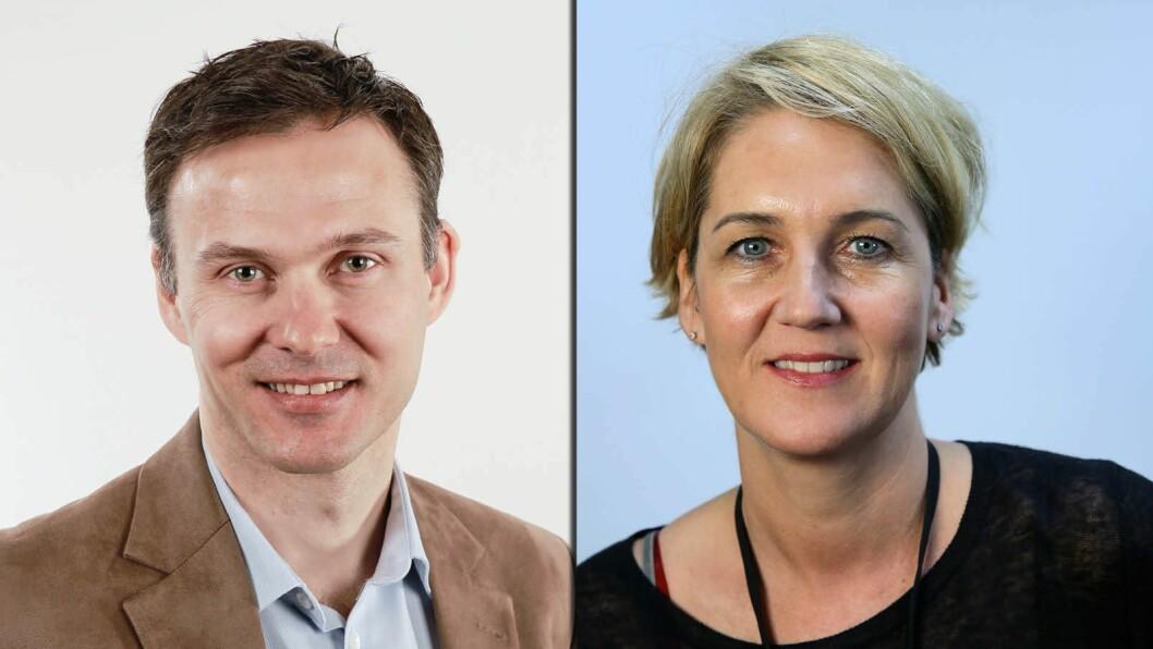 Tor Arne Andressen og Christina Pletten skal dekke Midtøsten og USA for Aftenposten.