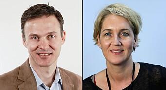 Aftenposten sender disse to erfarne reporterne til USA og Midtøsten