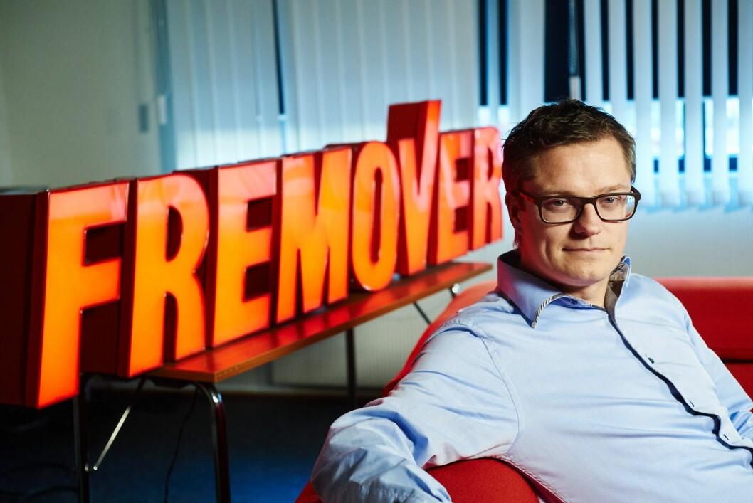Christian Senning Andersen, sjefredaktør og daglig leder i Narvik-avisa Fremover.