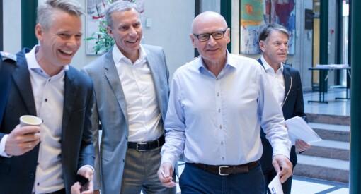 Disse 10 Schibsted-toppene tjente 68 millioner kroner i fjor. Mens mediehusene har kuttet grovt, fikk konsernsjefen 25 prosent høyere fastlønn