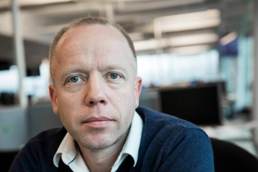 Utviklingsredaktør Trond Sundnes i Dagens Næringsliv.