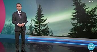NRK har 31 årsverk på nyheter i Troms. Dagsrevyen sendte likevel eget team for å lage nordlys-reportasje