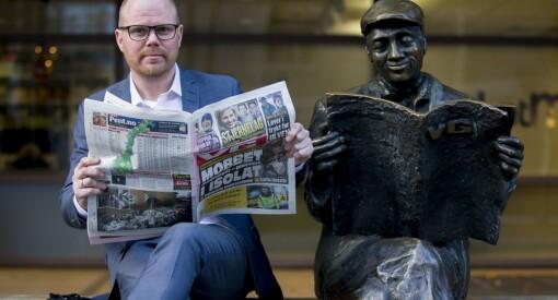 2,35 millioner nordmenn leser VG på papir, nett eller mobil hver dag. Sjekk lesertallene for norske aviser og magasiner