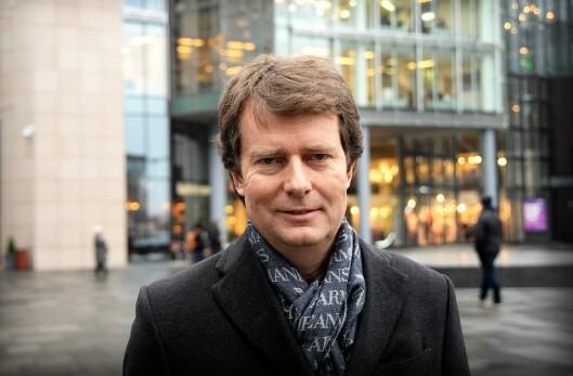 Konsernsjef Per Axel Koch i Polaris Media.
