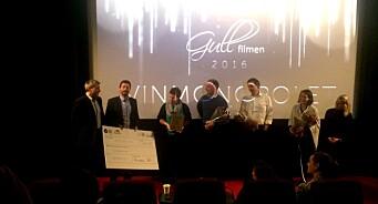 Beste kinoreklame: Vinomonopolet og Try vant «Gullfilmen 2016» for advarsel mot å kjøpe alkohol til mindreårige
