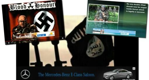 The Times: Slik finansierer internasjonale merkevarer terror, vold og hatsider på YouTube