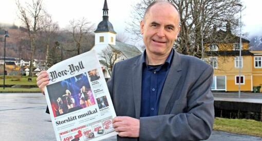 Svein Aam (56) forlater Sunnmørsposten for å bli ny toppleder i Møre-Nytt