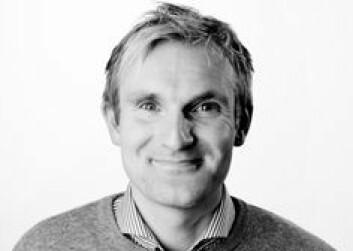 Kommersiell direktør Christian Haneborg i VG.