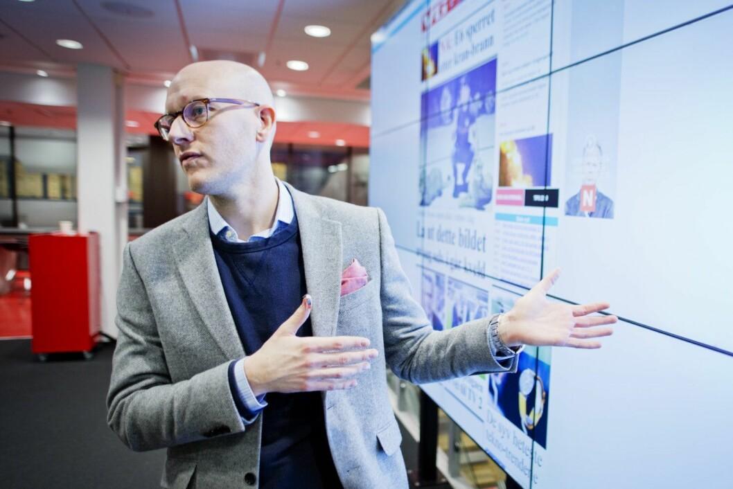 Utviklingsredaktør Ola Stenberg i VG