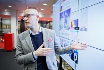 Digitalredaktør Ola Stenberg i VG.