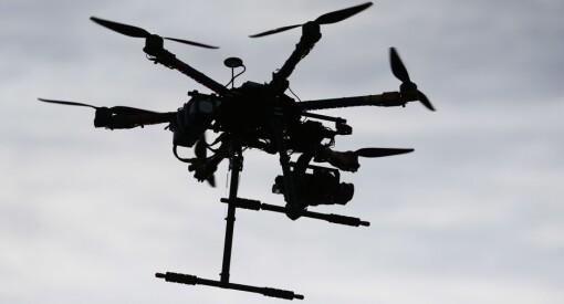 Forsvaret har lagt ned forbud mot droneflyging under militærøvelse