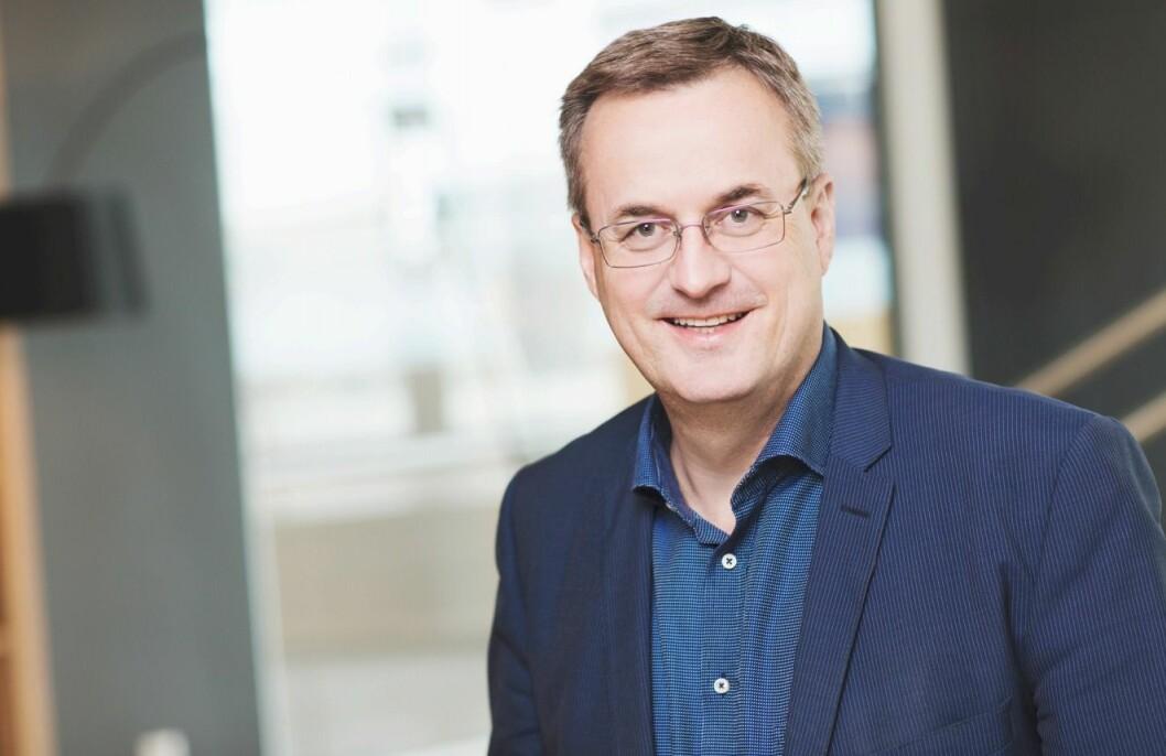Per Brikt Olsen, administrerende direktør i Fagpressen