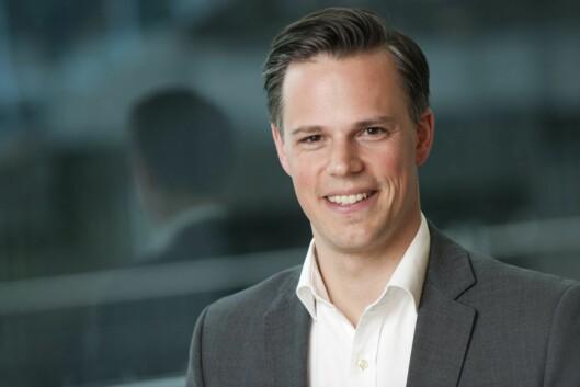Even Westerveld, informasjonsdirektør i DNB - og nå også redaktør.