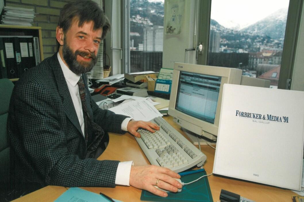 Helge Holbæk-Hanssen for litt over 20 år siden.