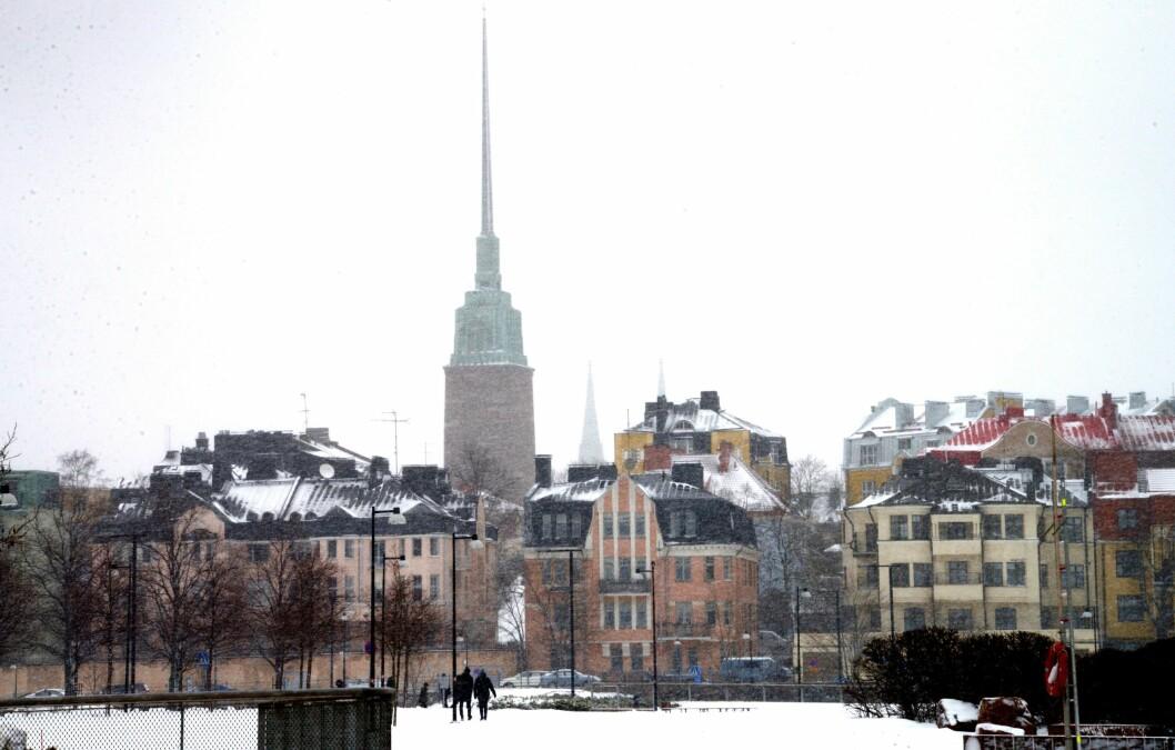 Mikael Agricola-kirken ruver såpass i Helsinki at det burde vært mulig for journalister å få øye på den.