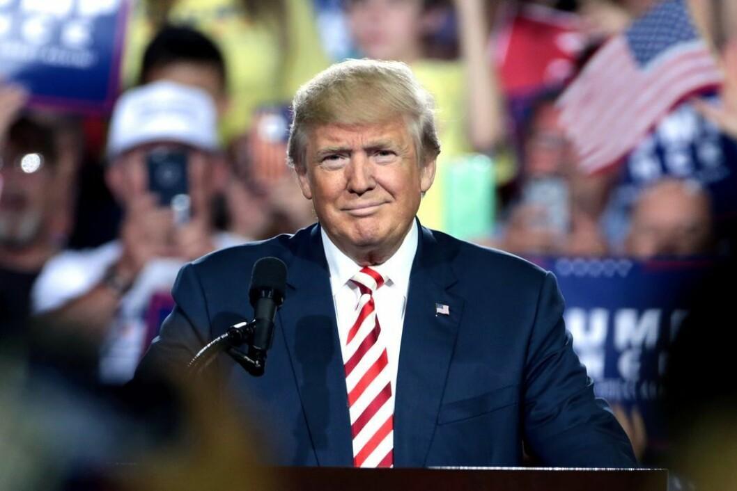 USAs president Donald Trump.