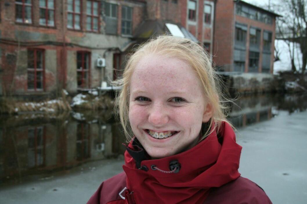 Ida Frøyland (13) er ny ungdomsjournalist i Forskning.no. Bildet er gjengitt med tillatelse.