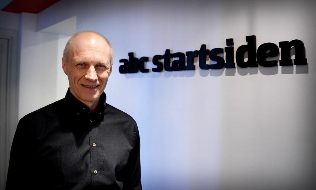 Publisher Espen Udland i ABC Startsiden.