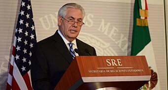 USAs utenriksminister nekter pressen å være med ham på reise. Hevder de tester en ny mediestrategi