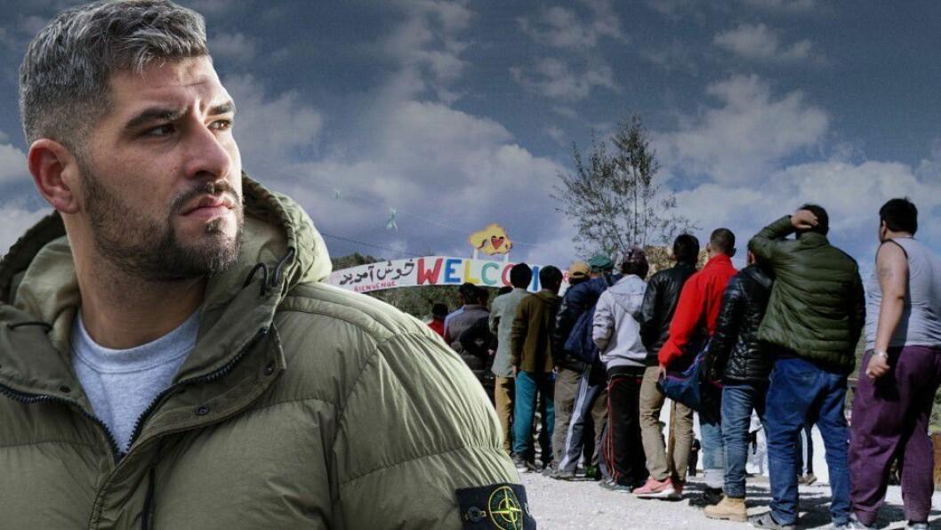 """TV-serien """"Flukt"""", produsert av Pandaora Film for NRK."""