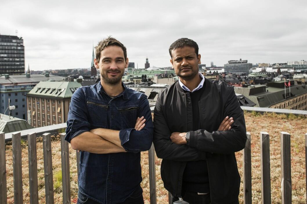 Shifter-gründerne Per-Ivar Nikolaisen og Lucas Haile.