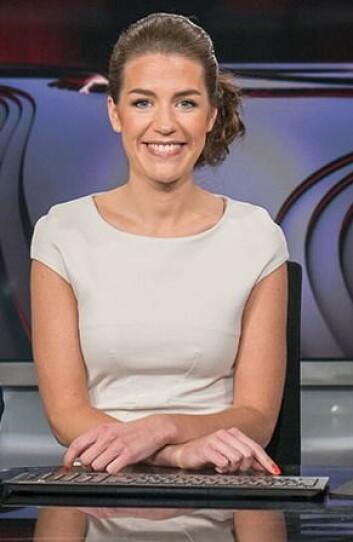 Siri Kleiven Strøm i TV 2 er årets unge talent. Foto: TV 2