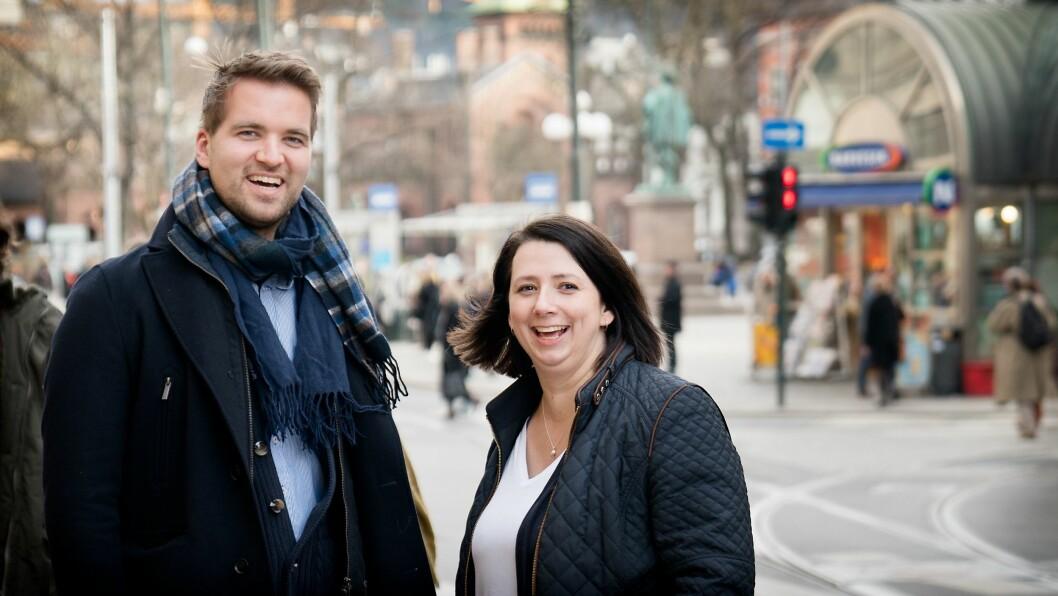Mathias Klingenberg og Hanne Kirknes Løvik har fått fast jobb i TU.no.