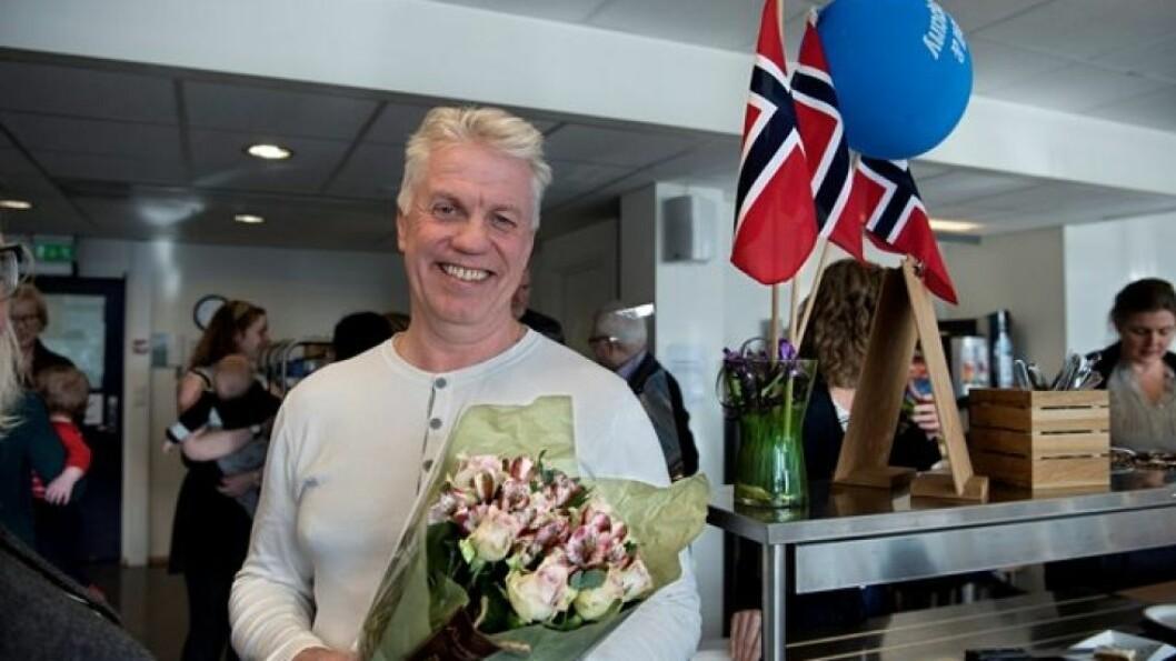 Kjell Austad, nå IT-sjef for hele Mentor Medier.