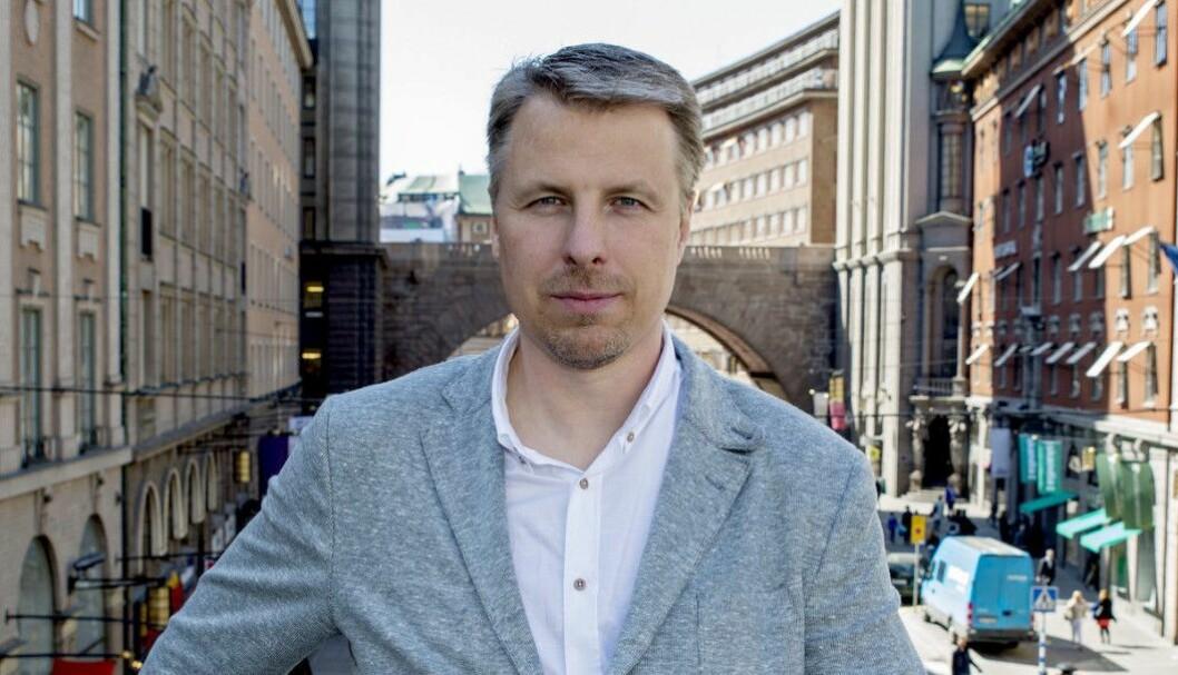 Magnus Johansson, Norden-sjef i Sizmek.