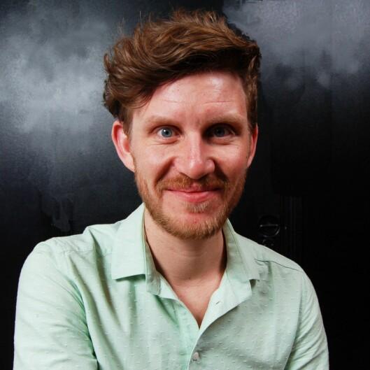 Jens Kihl, journalist i Klassekampen og nestleiar i Noregs Mållag.