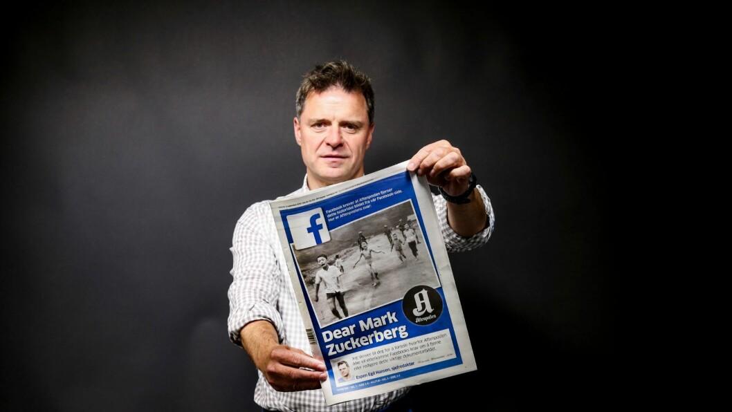 Aftenpostens sjefredaktør er «Årets Victor».