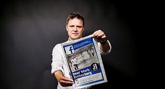 Espen Egil Hansen får dansk pressefrihetspris for å ha stått opp mot Facebook i saken om napalmjenta