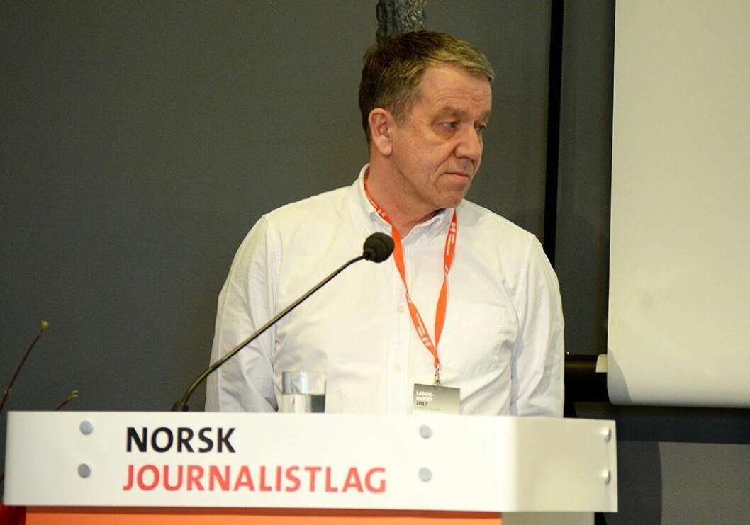 Sven Arne Buggeland, leder av valgkomiteen for NJ.