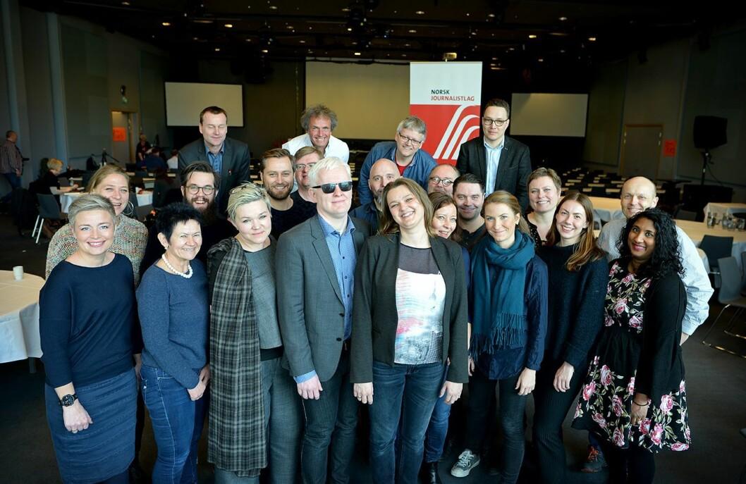 Her er det nye landsstyret i Norsk Journalistlag.