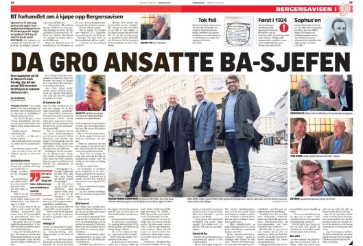 BAs intervju med fire nålevende, tidligere redaktører.