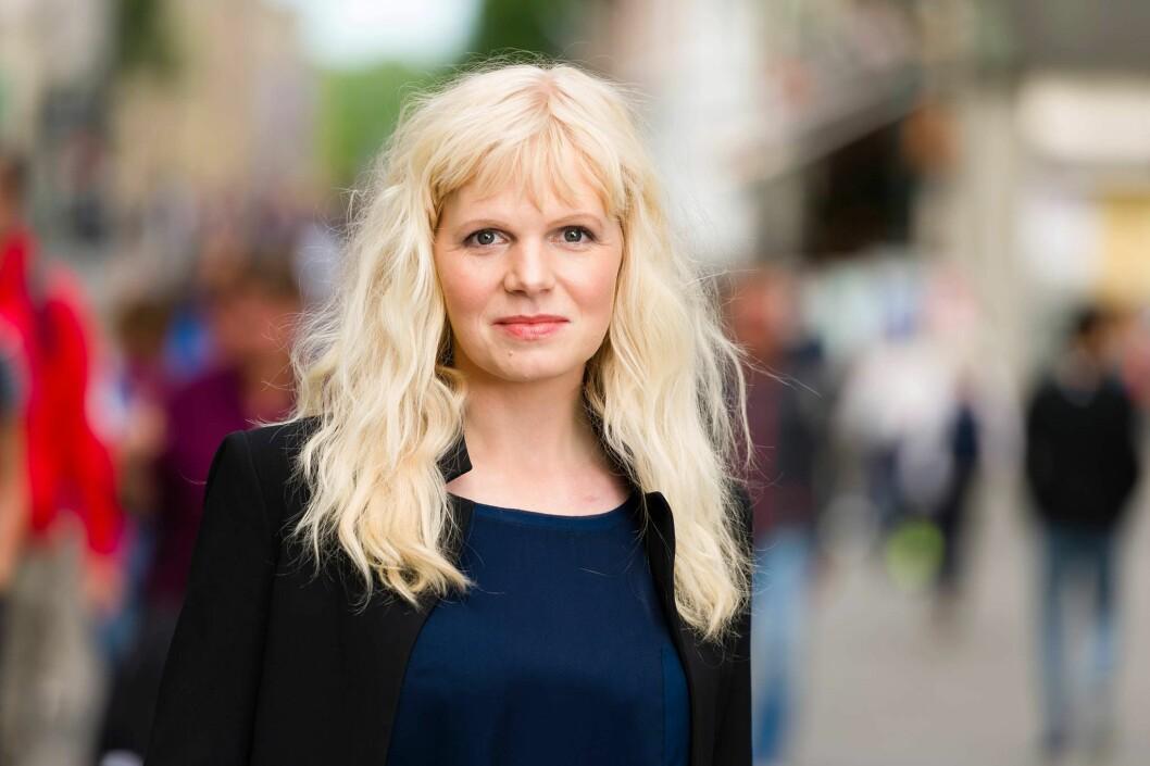 Programleder Marte Spurkland i Helsekontrollen på TV 2.