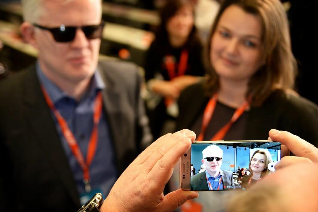 SPLITTER NY: Nestleder Dag Idar Tryggestad og leder Hege Iren Frantzen i Norsk Journalistlag. Begge ble valgt på landsmøtet denne uken.