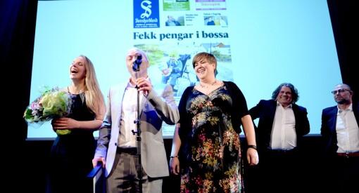Sunnhordland er Årets lokalavis! Hederlig omtale til Dølen, Suldalsposten og Hallingdølen