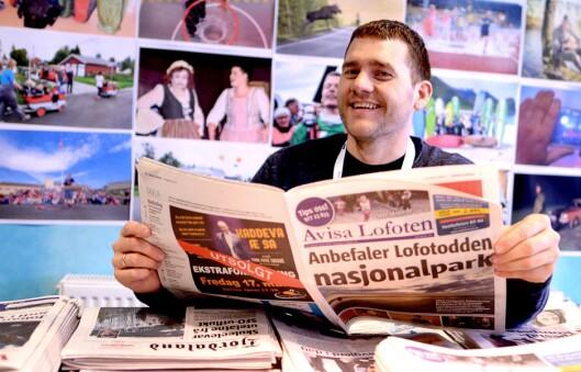 Benjamin Einarsen var førskolelæreren og standupkomikeren som ble lokalavisredaktør. Med et stort engasjement for hjemplassen som utgangspunkt.