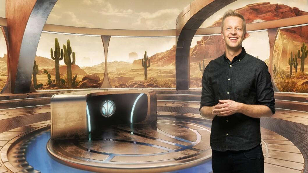 Fridtjof Nilsen er programleder for Lost in Time - programmet som fikk en røff start i helga.
